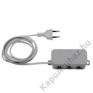 Hörmann 2-csatornás vevőegység világító berendezés vagy más fogyasztókhoz 230V (HES2 - 868,3MHz)