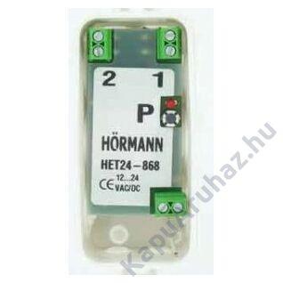 Hörmann 2-csatornás vevőegység HET24BS - BiSecur 868,3MHz