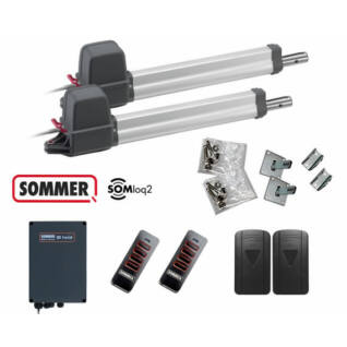 Sommer TWIST 200 EL2 kétszárnyú kapunyitó szett