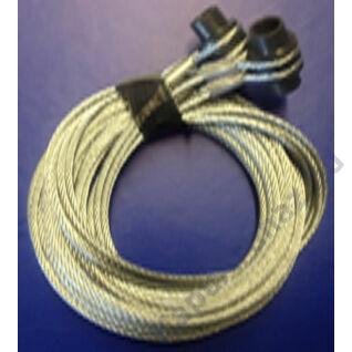 Hörmann drótkötél kötélszívvel, komplett 2000 mm magas kapukhoz
