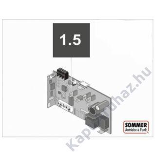 Sommer Aperto - Duo vision vezérlés (automata zárással)